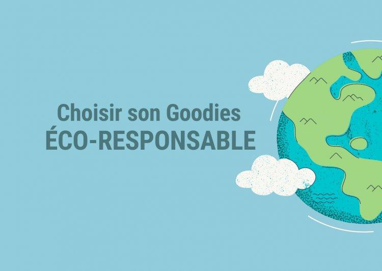 La tendance éco-responsable dans l'univers du Goodies !